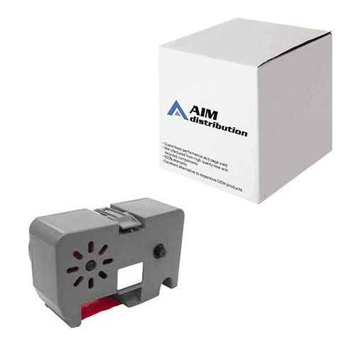 AIM Compatible Replacement for CTGNPTB700 Red Postage Meter Inkjet - Compatible to Pitney Bowes 767-1 - Generic