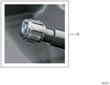 BMW Genuine M Performance 4x Wheel Tyre Air Valve Caps Dust Covers 36122447402