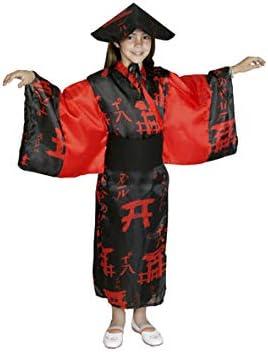 Disfraz de China para niña de 7 a 9 años: Amazon.es: Ropa y accesorios