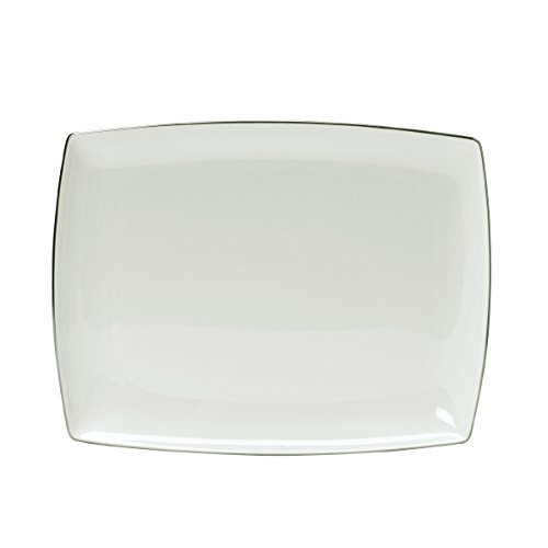 Mikasa Couture Platinum Rectangle Platter, 13-Inch