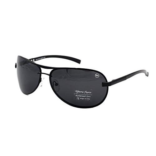 Roberto marco polarizadas gafas de sol para controladores Semi Gris ...