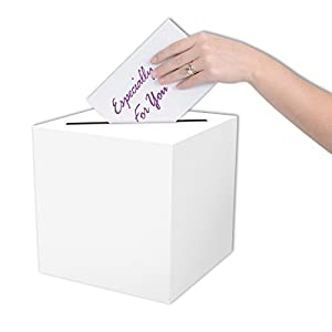 Beistle 54390 All-Purpose Card Box, 9 by 9-Inch (Value 3-Pack)