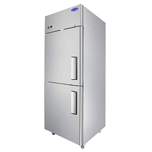 Atosa MBF8010GRL Single Section Reach-in Refrigerator with Left Hinged Half Doors