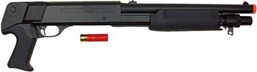 DE Model-799S Tri-Burst Shot Gun w/Pistol Grip&Shell Holster by DE/CSI (Image #3)