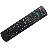Hotsmtbang Replacement Remote Control For Panasonic TH-42PX60U TH-50PX60U TH-37PX60U TH-42PX60X TH-58PX60U TH-42PX600U TH-42PX60 Plasma Display HDTV TV