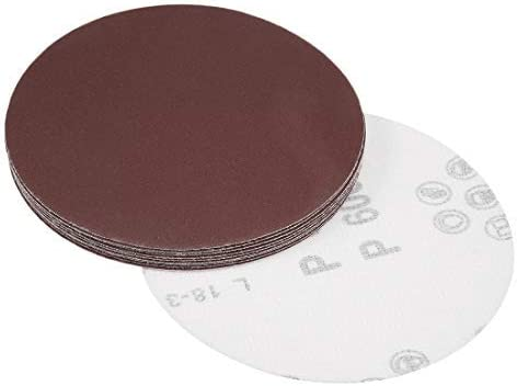 - 5-inch sanding disc, 600 grains, aluminum oxide sandpaper, back sandpaper for sanders, 10 pieces