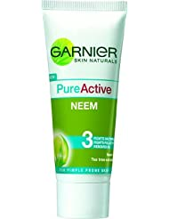 Garnier Pure Active Neem Face Wash(100 Ml) By Dodo Store