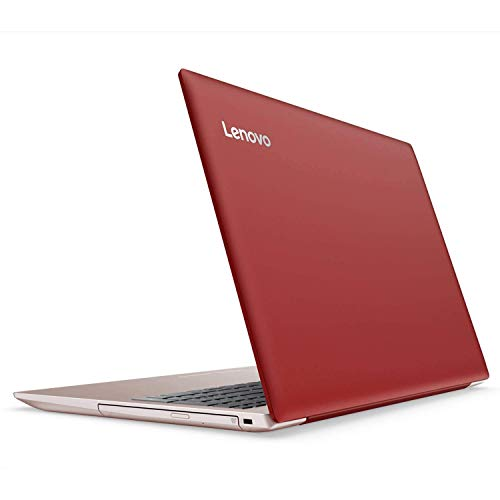 Lenovo Ideapad 320 15.6 inch HD Flagship Premium Laptop PC | Intel Celeron N3350 Dual-Core | 4GB RAM | 128GB SSD | Bluetooth 4.1 | WiFi | DVD RW | Ethernet | Windows 10 Home (Red)