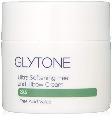 Glytone Ultra Softening Heel and Elbow Cream with Glycolic Acid & Glycerin, Exfoliate, Retexturize, Moisturize, Fragrance-Free, 1.7 oz.