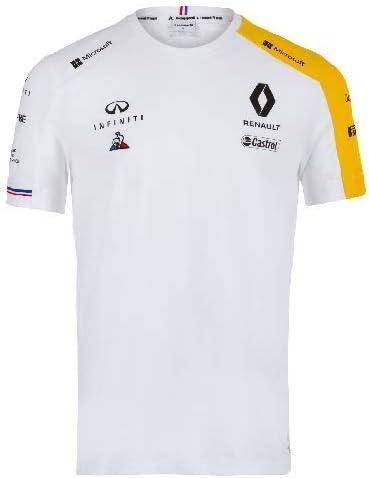 Renault F1 Team - Camiseta para hombre, color blanco: Amazon.es: Coche y moto