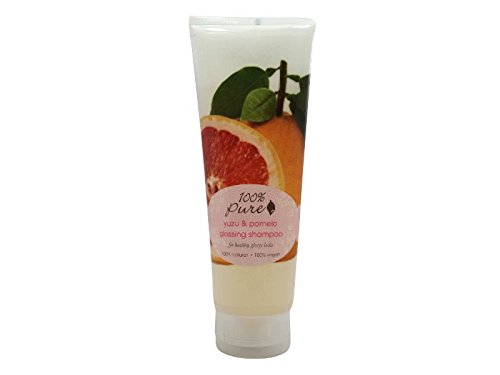 Natural Glossing Shampoo by 100% Pure, Yuzu & Pomelo, 8 oz