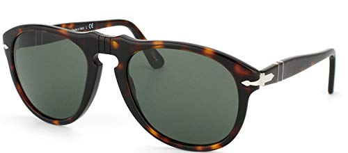 Persol Men's Classic PO649 Sunglasses,Tortoise Frame/Black Lens,one size (Persol Steve Mcqueen 714 Sm Special Edition)
