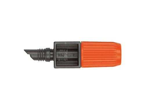 Gardena 139126Sprinkler End Of Line Adjustable Orange Plant Watering Drip