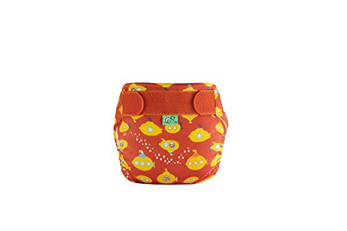 TotsBots Swims - Reusable Washable Baby and Toddler Swim Diaper (Yellow Submarine, Size 2 20-35lbs) (Best Eco Nappies Uk)