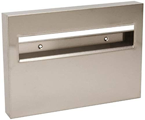Made in USA - 500 Capacity Stainless Steel Toilet Seat Cover Dispenser - 11'' High x 15-3/4'' Wide 1-3/4'' Deep (4 Pack)