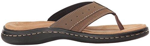 Mens Flip Shoe Dockers Sandal Laguna Casual Tan Flop Dark TdnfqS
