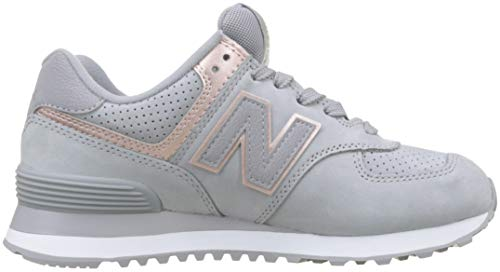 Zapatos Rosa De Las Wl574 Balance Gris Zapatillas Deporte Nueva Cordones Mujer Nbn wxRX6fIIUq