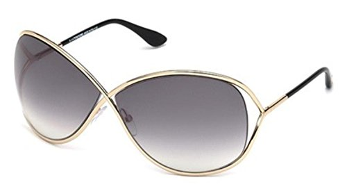 Tom Ford Women's FT0130 Sunglasses, Shiny Rose - Online Ford Tom