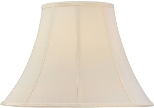 Dolan Designs 140063 Round Bell Soft Back with Piping Lamp Shade, Light