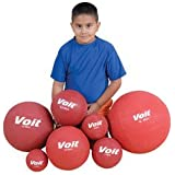 Voit Playground Ball, 8 1/2-Inch, Yellow