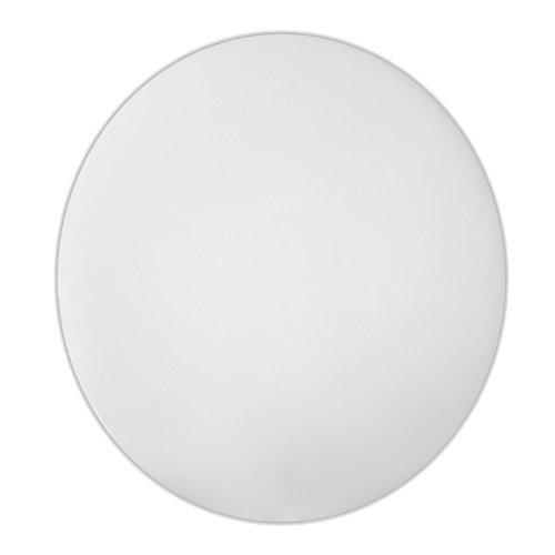 Excellante 1/2 by 14-Inch Polyethylene Round Cutting Board - Circular Chopping Board