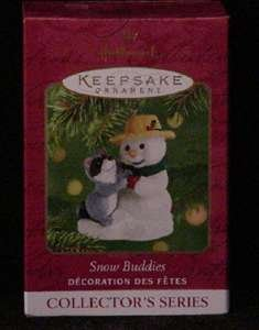Snow Buddies 2001 34 in series Hallmark Keepsake ()