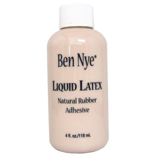 Ben Nye Liquid Latex 4 oz LL-25 Natural Rubber Adhesive