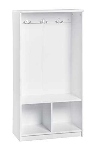White Locker Room - ClosetMaid 1499 KidSpace Open Storage Locker, 49-Inch Height, White