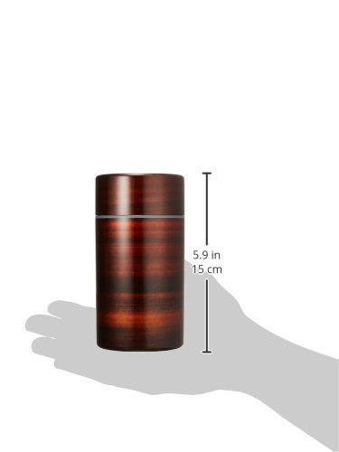 HAKOYA tea caddy Marudai cherry wood 56701 (japan import) by Ya Tatsumi (Image #2)