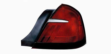 CarLights360: Fits 1998 1999 2000 2001 2002 Mercury Grand Marquis Tail Light Assembly Passenger Side (Right) - Replacement for FO2819124
