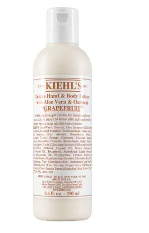 Ki'ehl's Deluxe Hand & Body Lotion With Aloe Vera & Oatmeal - Grapefruit - Deluxe Body Wash