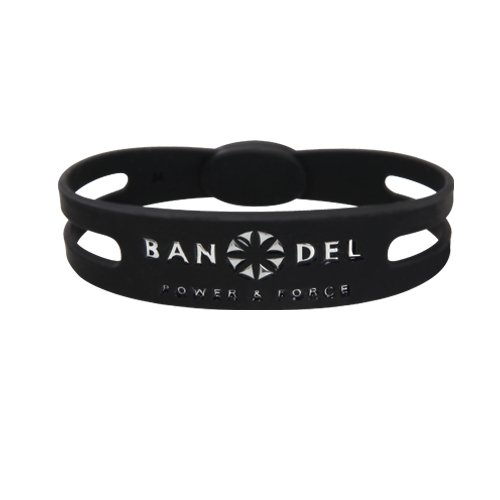 BANDEL(반델) 팔찌(블랙×실버)