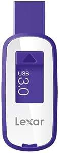 Lexar JumpDrive S23 64GB USB 3.0 Flash Drive LJDS23-64GASBNA (Purple)