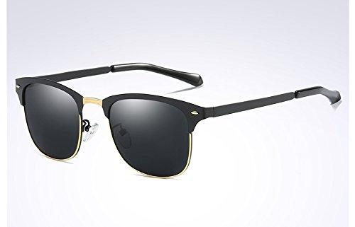 gafas verde para oscuro TL sol de gray sol Classic Guía de polarizadas negro Sunglasses tonos hombres gafas black ropa hombres Frame Black nqxrTw8UPq
