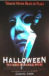HALLOWEEN Curse of Michael Myers Movie Poster 24x36 (Classic Scary Movie Posters)