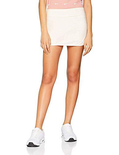 (Nike Dri-Fit Solid Color Athletic Tennis Golf Skort (Guava Ice/White, Large))