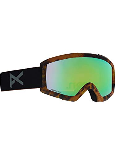 Anon Asian Fit Helix 2.0 Goggle, Tort Frame Sonargreen ()