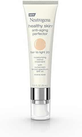 Neutrogena Healthy Skin Anti-Aging Perfector Spf 20, Retinol Treatment, 20 Fair To Light, 1 Fl. Oz.