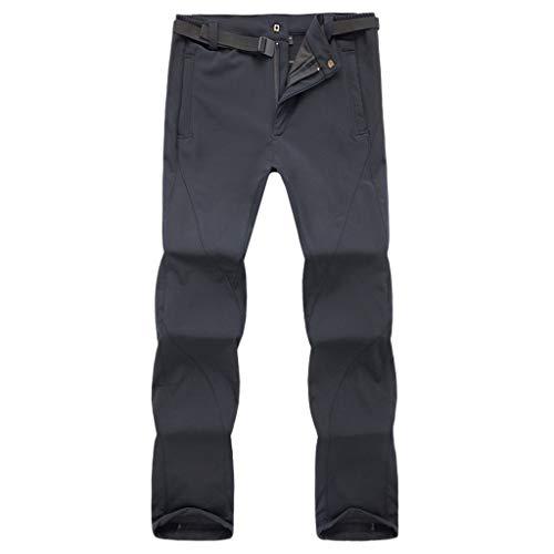 YKARITIANNA Men's Sport Outdoor Waterproof and Windproof Quick-Drying Trousers Long Pants 2019 Summer Gray
