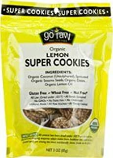 product image for Go Raw Lemon Cookies, 3-Ounce (Pack of 3)