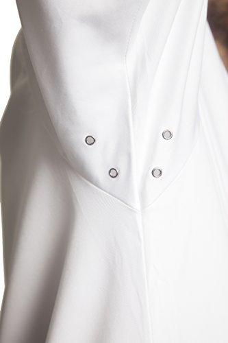 Bragard Exclusive Design Men's perigord Chef Jacket - White With Gray Piping Cotton - Size 40 by Bragard (Image #7)