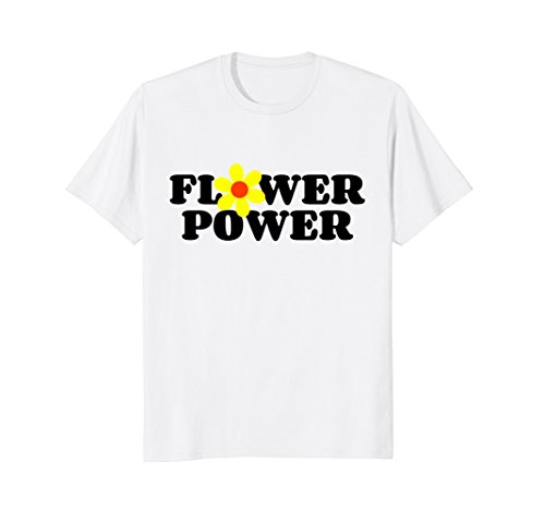 Daisy Flower power 70s style hippie inspired - Flower T-shirt Daisy