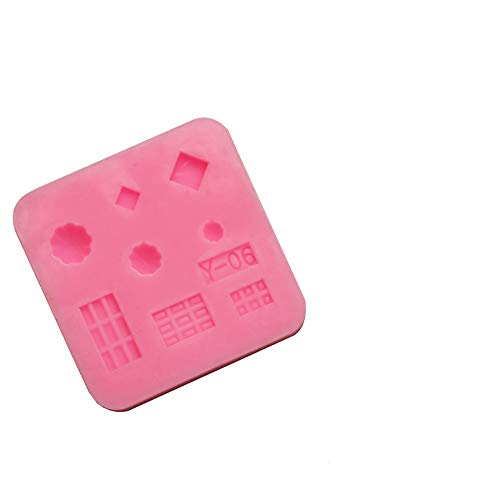 xatos Cupcake Mold Mini Silicone Cake Mold Cake Decorating Moulds Tools Chocolate Mold Numbers Cupcake Mold Rectangle Heart Round Mini