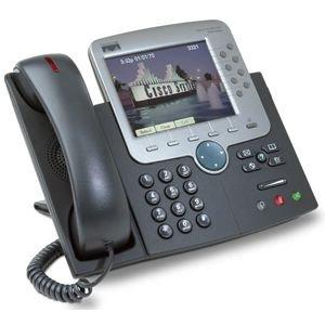 Cisco CP-7970G SIP Phone, Color LCD Screen (SIP (Cisco Sip Phones)