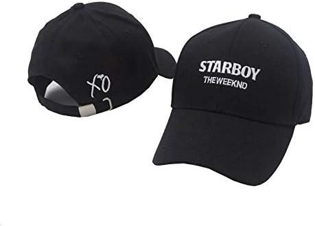 JKYJYJ 100% Algodón The Weeknd Starboy Sombreros Y Sombreros ...