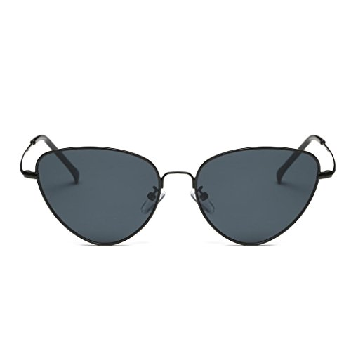 6f72edd5950980 Lunettes de Soleil 2018 Ansenesna Unisex Chat Couleur des yeux Frame Film  UV400 protection Lunettes de ...