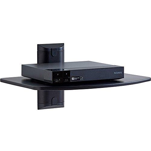 Echogear Steel Wall Mounted Av Shelf Supports Up To 15lbs