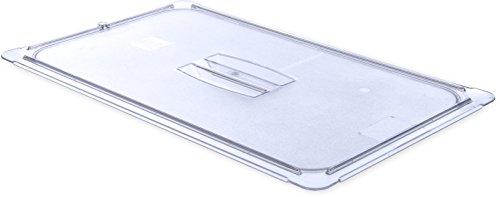 - Carlisle 10210U07 StorPlus Full Size Polycarbonate Universal Handled Food Pan Lid, Clear