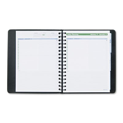 A-glance Action Planner - AT-A-GLANCE Daily Action Planner,Tabbed, 6-7/8