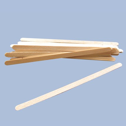 wooden spatulas waxing - 3